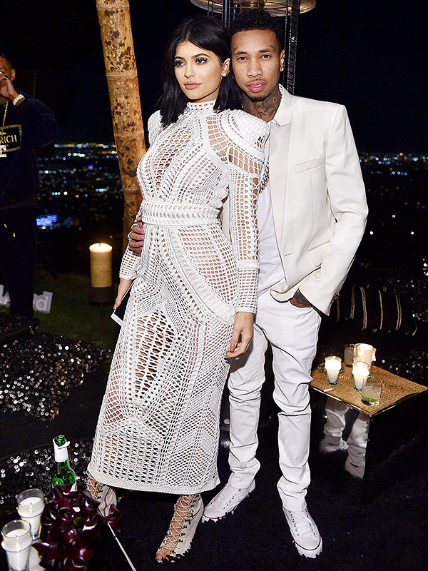Kylie Jenner Tyga Balmain birthday party