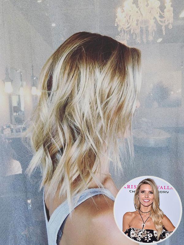 Audrina Patridge blonde hair