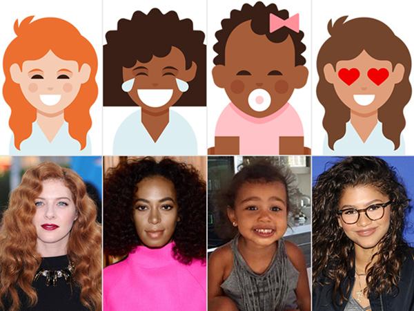 Curly Hair Emojis