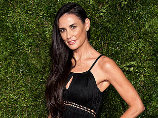 Demi Moore Is an 'Earth Angel' in LBD at CFDA/Vogue Fashion Fund Awards