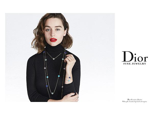 Emilia Clarke for Dior