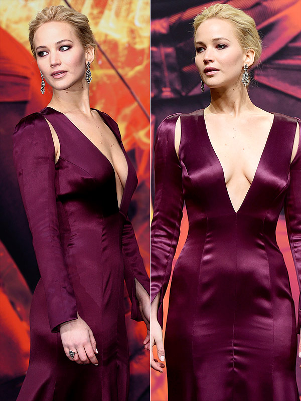 Jennifer Lawrence Hunger Games Mockingjay Part 2 premiere Berlin