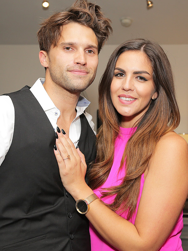 Tom Schwartz and Katie Maloney