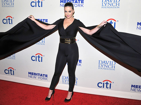 Katy Perry jumpsuit with wings