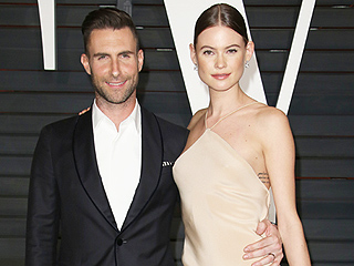 See the Sweet, Sexy Way Adam Levine Surprised Behati Prinsloo Post-Victoria's Secret Show