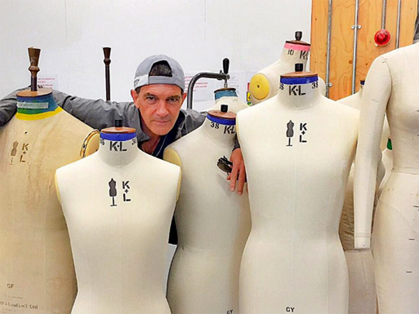 Antonio  Banderas Fashion school
