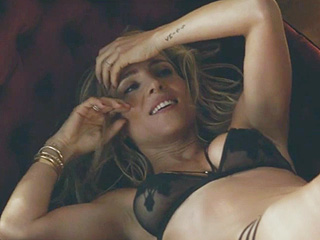 Watch Elsa Pataky Sing and Dance in Lacy Lingerie for New TV Spot (You're a Lucky Man Chris Hemsworth!)