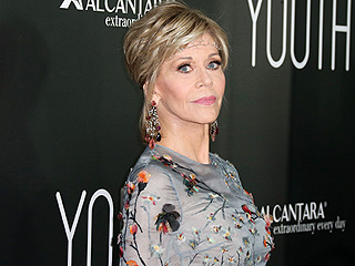 Jane Fonda, 77, Wears Glittering Headpiece, Reminds Everyone She's the Ultimate Trendsetter
