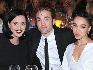 Three's Company! Robert Pattinson and FKA Twigs Enjoy a Date Night with Pal Katy Perry