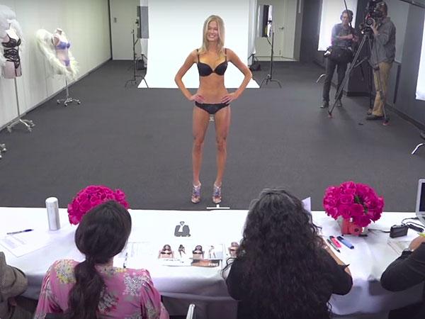 Victoria's Secret Fashion Show casting process