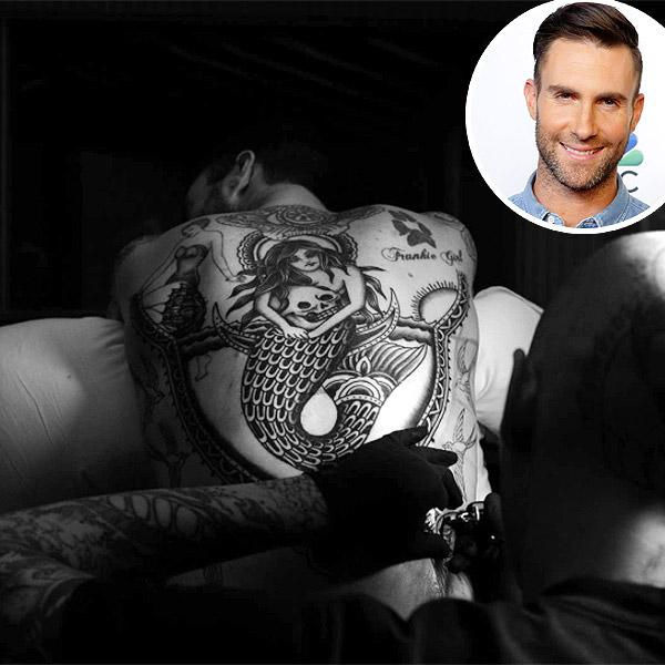 Adam Levine tat