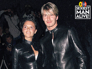 David Beckham on the One Outfit He and Victoria 'Always Laugh About' (Hint: It's a Lot of Leather)