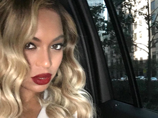 Beyoncé's Platinum Ombré Waves Are the Best Thing to Happen Since 'Surfboard'