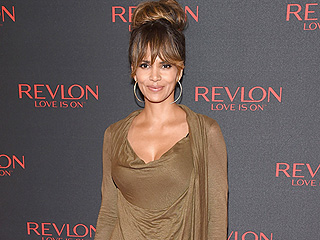 Halle Berry Hits Her Sexy Breakover Stride in Cleavage-Baring Dress