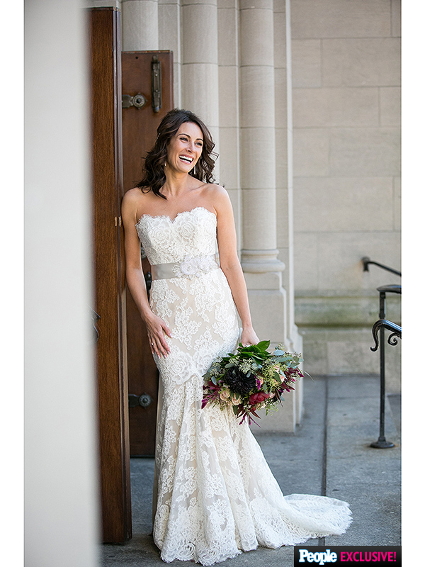 Laura Benanti Wedding Dress