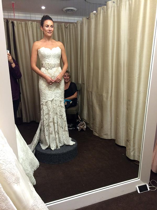 Laura Benanti Wedding Dress