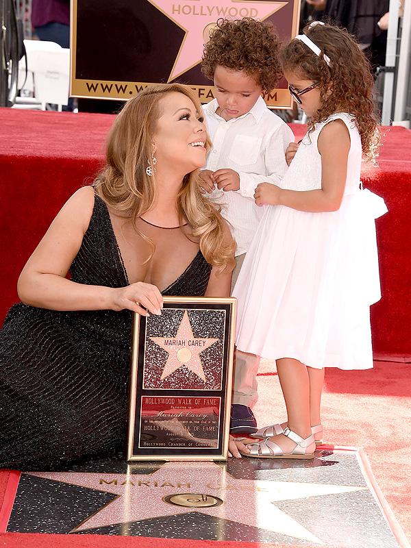 Mariah Carey and Children