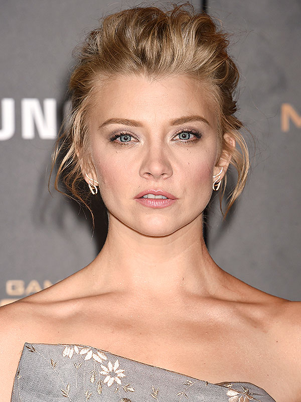 Actress Natalie Dormer arrives at the premiere of Mockingjay Part 2