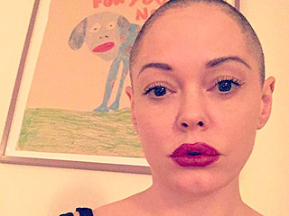 Rose McGowan Shaves Her Head Completely: 'It's Liberating'