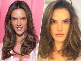 Supermodel Makeover! Alessandra Ambrosio Cut Her Hair Into a Lob