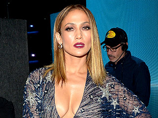 Jennifer Lopez Changes 10 Times While Hosting the AMAs, Somehow Out-J.Lo's Herself (Sheer! Nude! Sparkly!) Every Time