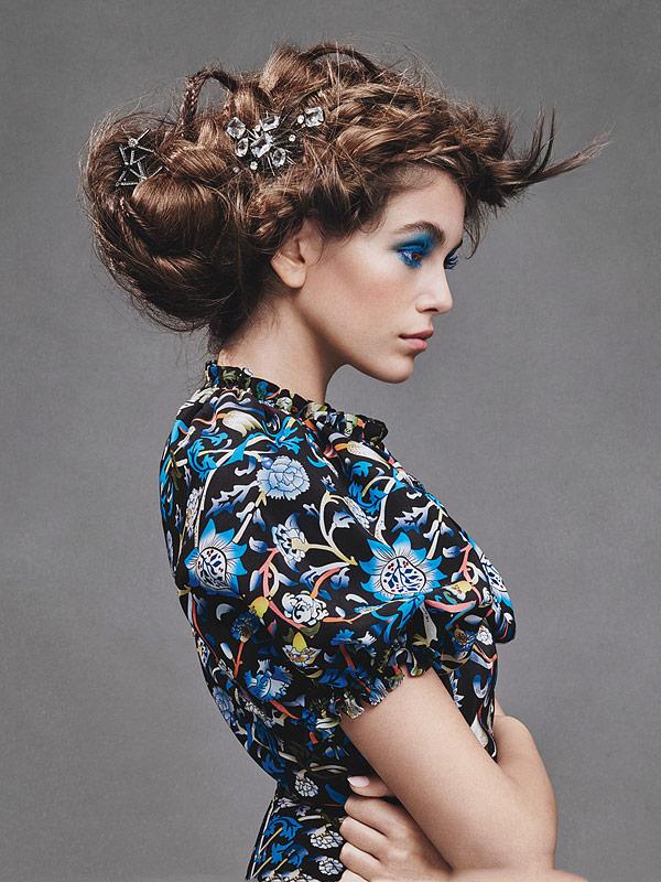 Kaia Gerber Teen Vogue