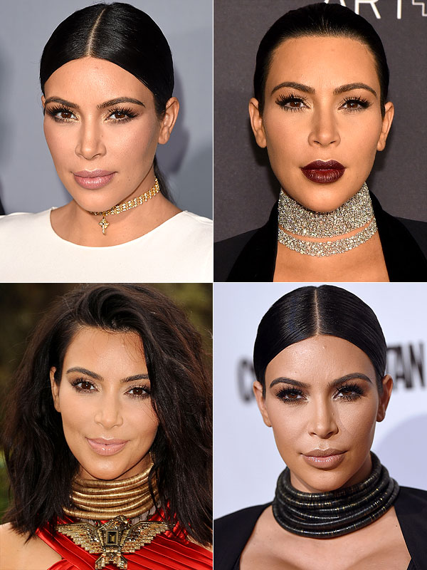 Kim Kardashian chokers