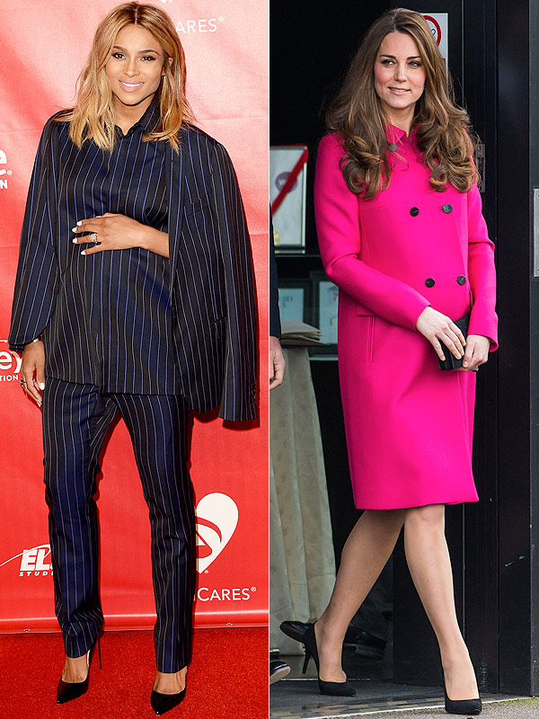 Ciara Kate Middleton Maternity Style