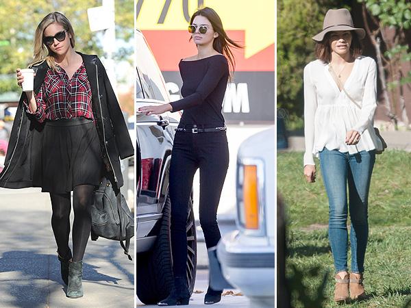 Brittany Snow, Kendall Jenner, Jenna Dewan street style