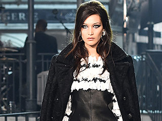 Bella of the Chanel Ball! Bella Hadid Walks Her First Runway for Karl Lagerfeld