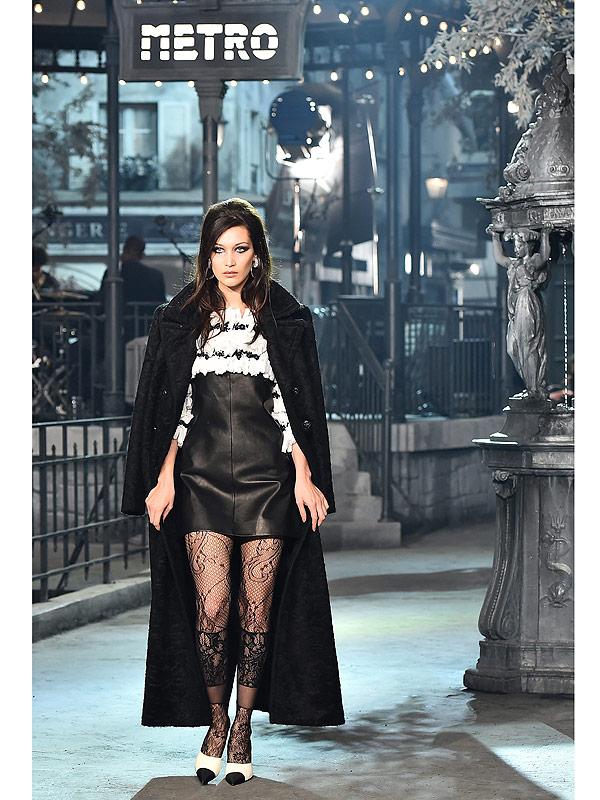 Bella Hadid Chanel Runway Metiers d'Art Rome