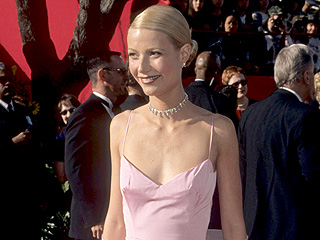 Gwyneth Paltrow on Her Famous Pink Oscars Dress: 'Maybe Apple Will Wear It to Prom'