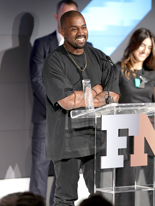 Kanye West Footwear News Show of the Year Yeezy Boosts
