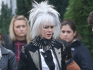 Nicole Kidman Brings the Bowie in a Wild Punk Rock Alien Costume