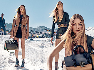 Gigi Hadid Stars in New Versace Ads (and Donatella Joined Instagram to Celebrate!)