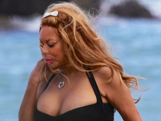 How You Doin'? Wendy Williams, 51, Shows Off 50-Lb. Weight Loss in Sexy, Cleavage-Baring Swimsuit