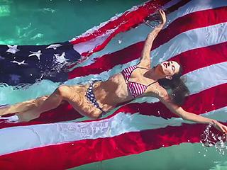 Alessandra Ambrosio Will Take You to the Danger Zone in Love Magazine's Latest Sexy Advent Calendar Video