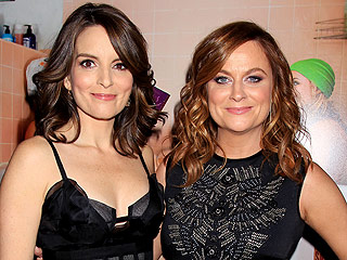 Well, They Do Play Sisters! Amy Poehler and Tina Fey Both Rock Sexy LBDs at Their New York Premiere