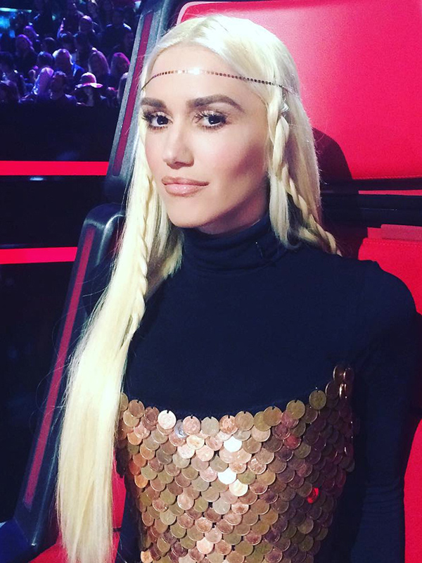 Gwen Stefani's Hair Looks Are So Good On This Season Of The Voice ... Gwen Stefani