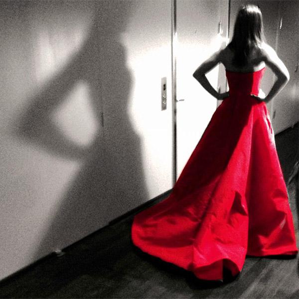 Jennifer Aniston Valentino Dress