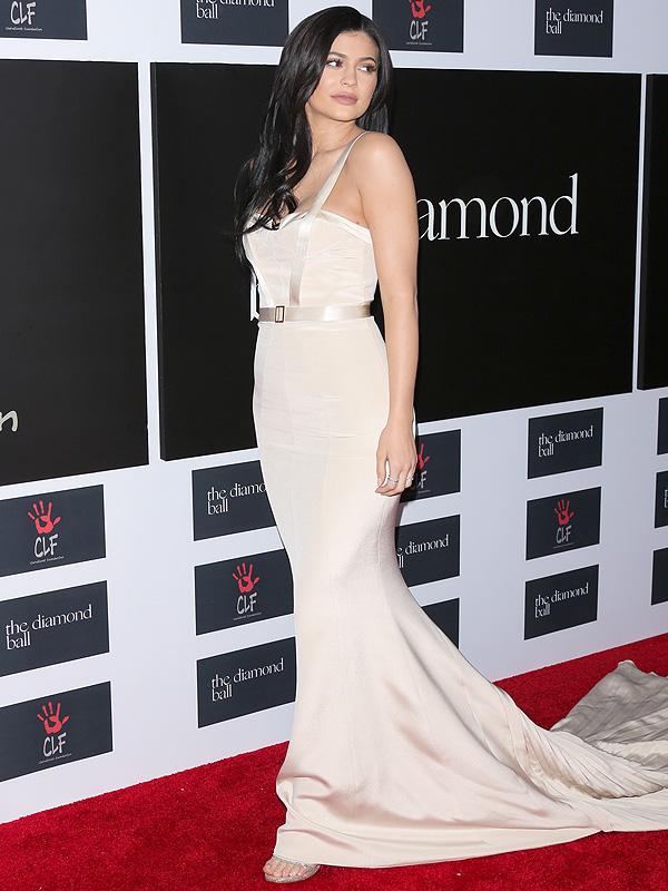 Kylie Jenner Rihanna Diamond Ball August Getty