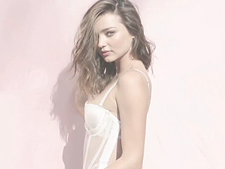 Miranda Kerr's Love Magazine Advent Spot Involves Lingerie and a Pool (Don't Act Surprised)