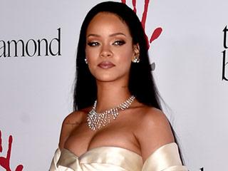 Golden Girl Rihanna Stuns in Dior at Her Second Annual Diamond Ball Gala