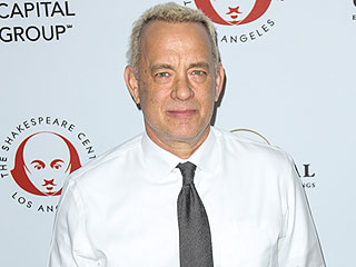 Tom Hanks is Blond! Actor Ditches Brown Locks at California Event with Wife Rita Wilson