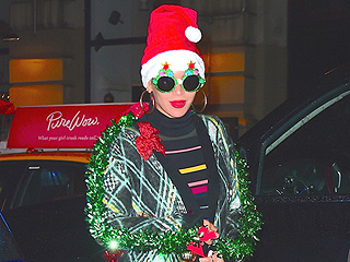 Beyoncé Dresses Like a Christmas Tree (and Her Outfit Would Warm Even the Grinch's Heart)
