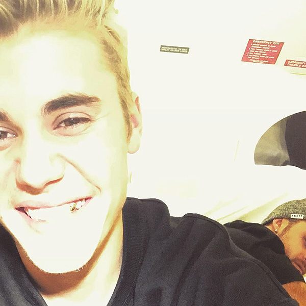 Justin Bieber gold tooth