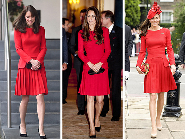 Catherine Duchess of Cambridge dress re-wear