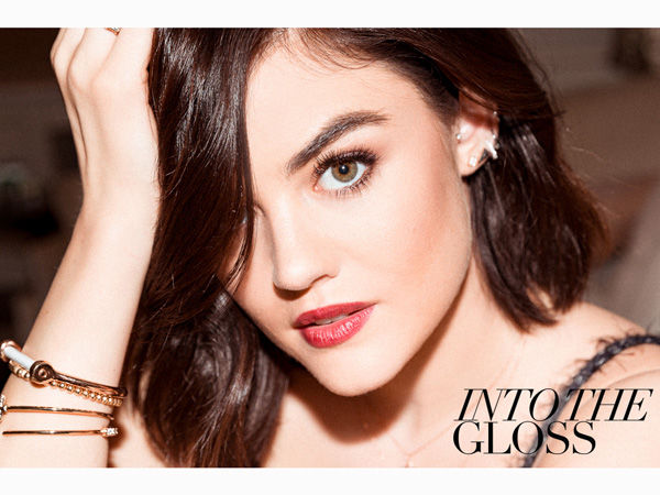 Lucy Hale Into The Gloss
