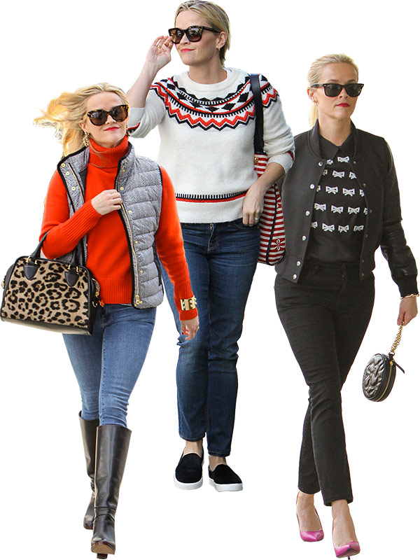 Reese Witherspoon holiday style inspo