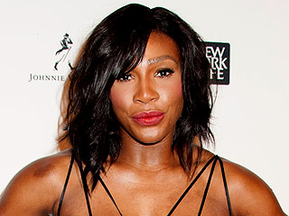 Serena Williams Goes Grand Glam in Lace at Sportsperson of the Year Ceremony